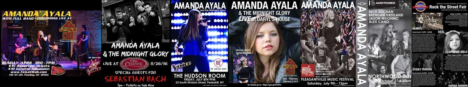 Amanda Ayala Performance Posters